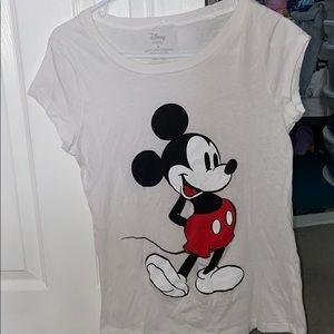 Disney white T-shirt women's L